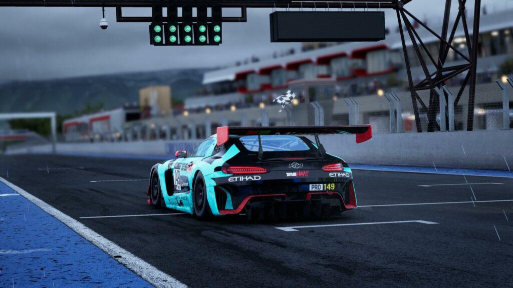Mercedes AMG GT3 Evo in Assetto Corsa Competizione