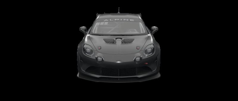 car-front-Alpine A110 GT4
