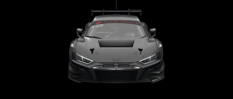 car-front-Audi R8 LMS Evo