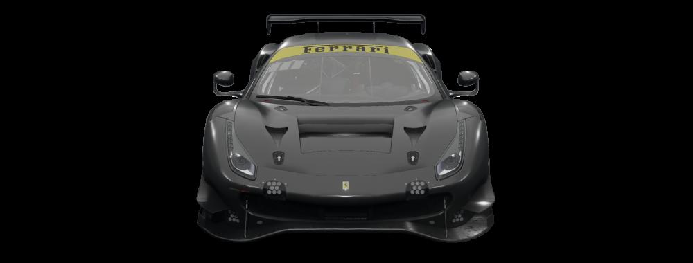 car-front-Ferrari 488 GT3 Evo