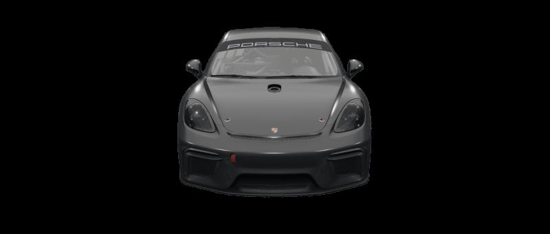 car-front-Porsche 718 Cayman GT4 Clubsport