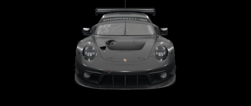 car-front-Porsche 911II GT3 R